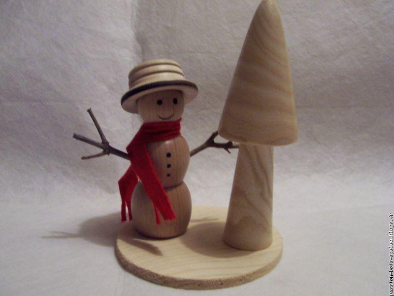 Passion bois speleo le blog multim dia 100 facile et gratuit - Bonhomme de neige en bois ...